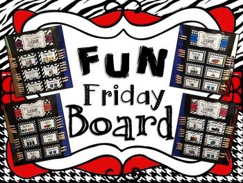Fun Friday Editable Board Setup