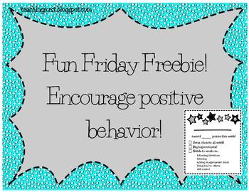 Fun Friday Freebie!