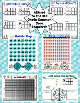 Fun Friday Math Games: Quarter 1 (3rd Grade)