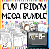 Fun Friday and Ice Breakers MEGA BUNDLE for First Week of