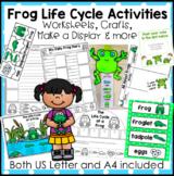 Fun Frog Life Cycle Activities & More