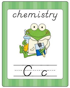 Fun Frog Alphabet Line (D'Nealian)- Green