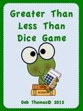 Fun Frog Math! (Greater Than/Less Than)