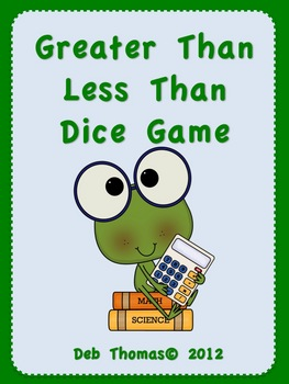 Fun Frog Math! (Greater Than/Less Than)