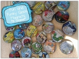Fun & Funky Glass Magnets ~ A Tutorial {Perfect for End of the Year Gifts}