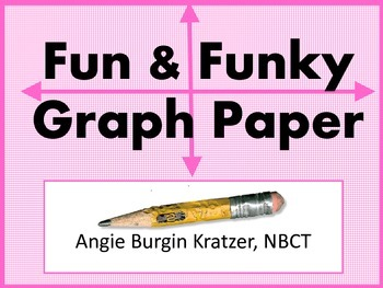 Fun & Funky Graph Paper {Various Grid Sizes}