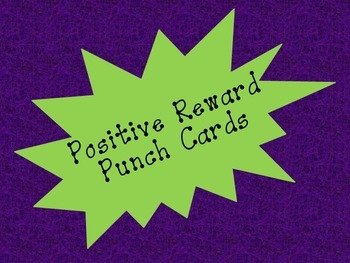 Fun & Funky Punch Cards