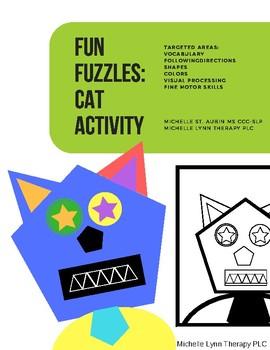 Fun Fuzzles:  Cat Activity