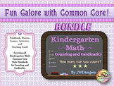 Kindergarten Math Bundle - Counting & Cardinality