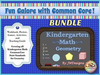 Kindergarten Math Bundle - Geometry/Shapes