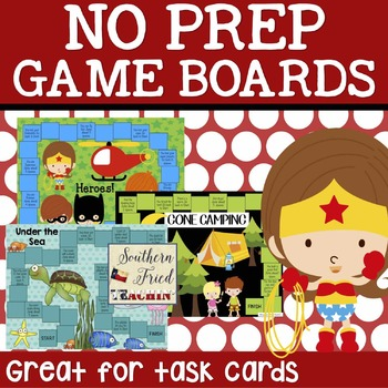 No Prep Game Boards