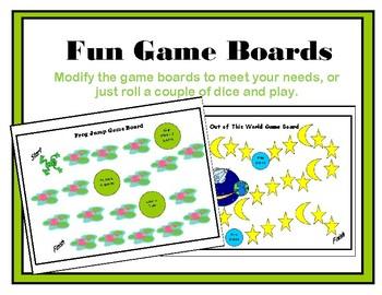 Fun Game Boards