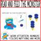 Adapted Book and Fun Game Monster loves Ice Cream