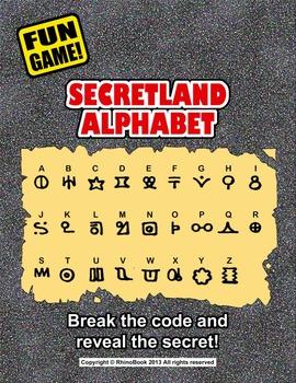 Fun Game (Ice Breaker): Secretland Alphabet (Language Game)