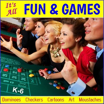 FUN & GAMES: Fun Friday Activities, Party Games, Math Games, End of Year (K-6)