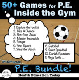 P.E Unit Bundle: 50 Fun Lessons, Games and Activities (Ins