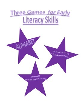 Fun Games to Promote Early Literacy Skills