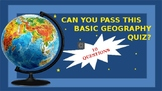Fun Geography Quiz+ Answers  (Amazing PowerPoint Presentation)