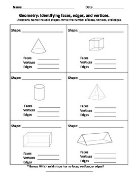 Fun Geometry Activities using Plane and Solid Shapes