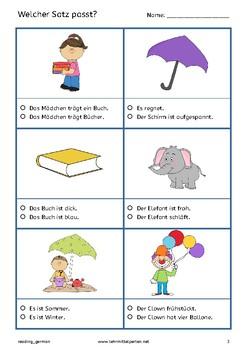 Fun German Reading