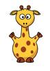 Fun Giraffe Weather Chart