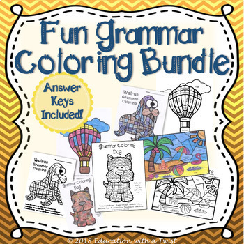 Fun Grammar Coloring Bundle