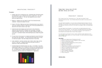Fun Graphing Project for Intermediate Grades