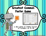 Factors Game: Math Game for 4th Grade (possibly 3rd & 5th)