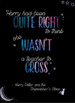 Fun, HP-Inspired Classroom Poster