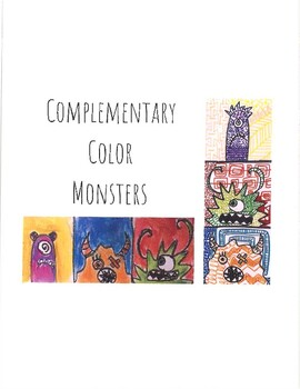 Fun Halloween Drawing Game: Roll-a-Complementary Color Monster!