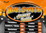Fun Halloween Game - Family Feud Trivia Powerpoint Game -