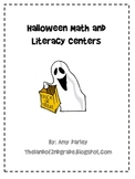Fun Halloween Math and Literacy Centers