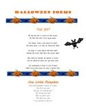 Fun Halloween Poems