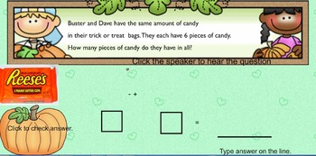 Fun Halloween Word Problems and other activities