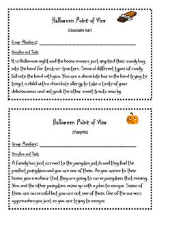 Fun Halloween Writing Prompts
