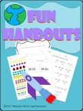 Fun Handouts