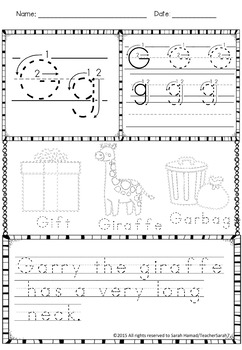 Editable Fun Handwriting Practice Worksheets