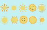 Fun, Happy, Sun Clip Art