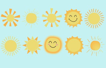 Fun, Happy, Sun Clip Art
