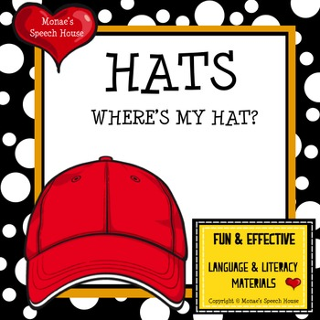 Fun Hat Book: INTERACTIVE