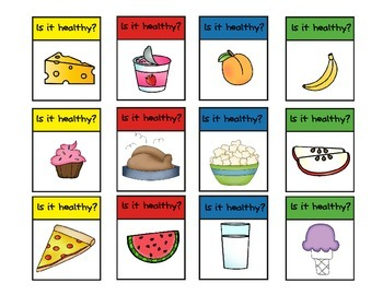 Fun Healthy Foods Game