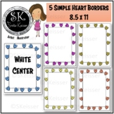 Fun Heart Borders