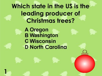 Christmas Holiday Trivia - 100 Questions - PDF format for printing