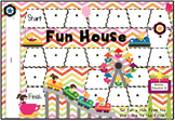 Fun House Blank Board Game (EDITABLE)