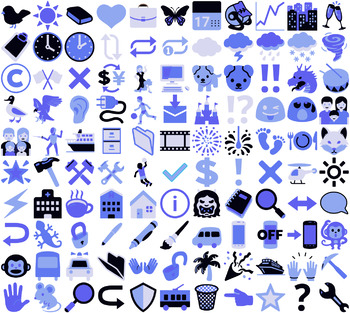 110 Fun Images & Emojis for Websites, Worksheets, and Vector Icons