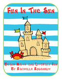 Fun In The Sun - Beach Activities for Math and Literacy