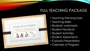 Grade 7/8 English - Fun Jaberwocky Lesson Plan and Worksheets