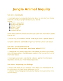 Fun Jungle animal research task