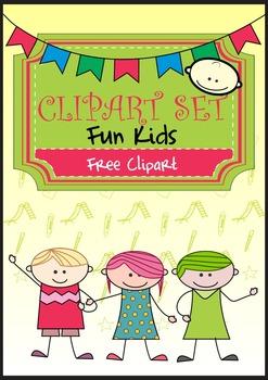 Doodle Fun Kids Free Clip Art