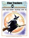 Fun Kids Spooky Halloween Hunt Clue Game Printable Holiday